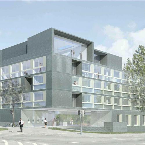 neubau der raiffeisenbank in ravensburg turkali architekten. Black Bedroom Furniture Sets. Home Design Ideas